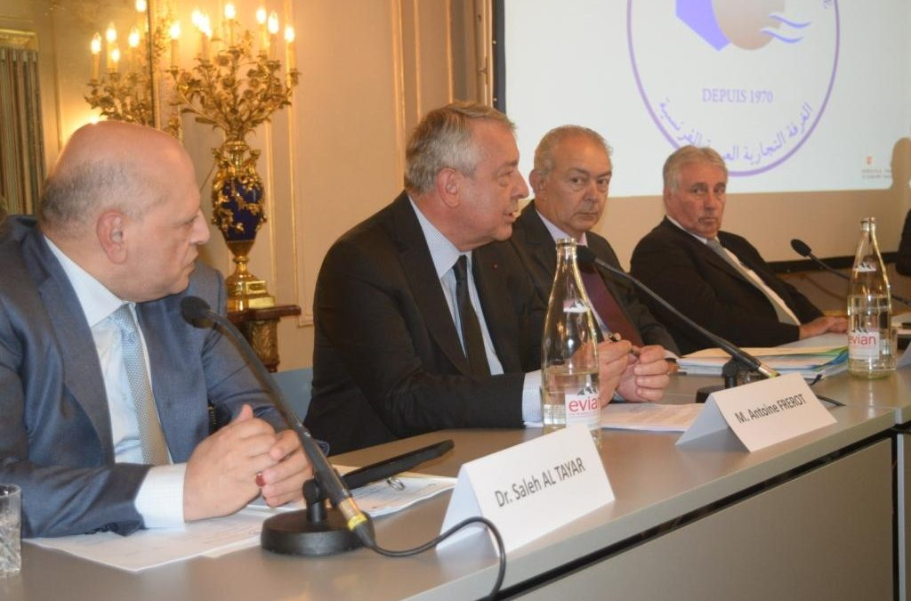 الجمعية العمومية الـ 48 ومجلس إدارة الغرفة التجارية العربية الفرنســية : انتخــاب السيد فانسان رينا رئيســـا للغرفة للمـرة الثـــانية