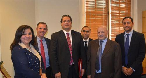 الغرفة تكرّم وزير الاقتصاد التونسي