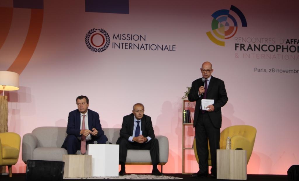 اجتماعات عمل FRANCOPHONE لعام 2019 ، الخميس ، 28 نوفمبر ، HOTEL MARRIOTT RIVE GAUCHE ، باريس